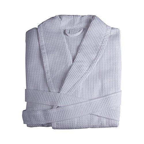Bademäntel Licht aus 100% Baumwolle. Fabrics förmiges Nest Biene (Größe L)
