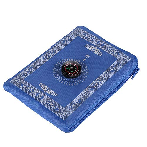Coaste Prayer Rug - Eid Al-Fitr Portable Muslim Prayer Carpet, Islamic Prayer Carpet with Compass
