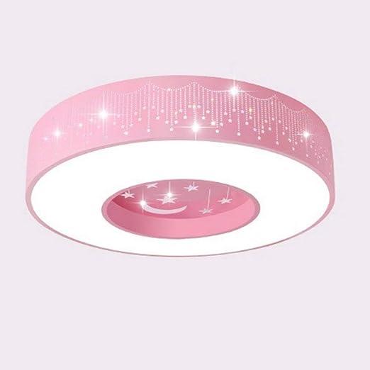 ZR Lámpara de Techo para niños exquisitas Estrellas LED lámparas ...