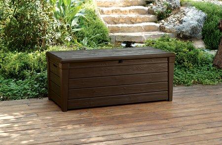 Sensational Garden Storage Bench Box Large 454L Keter Resin Furniture Lockable Waterproof Unemploymentrelief Wooden Chair Designs For Living Room Unemploymentrelieforg