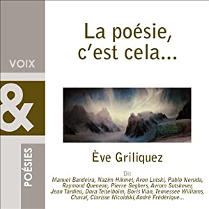 La poésie, c'est cela... Audiobook