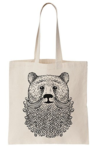 Old Fashioned Canvas with Tote Beard Bag Bear Rpw4qzv