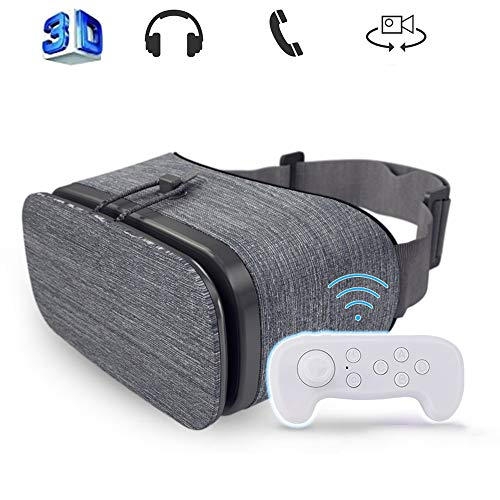 Mobile VR, Audio Visual Integration Immersive Experience VR Spree Universal Virtual Reality Goggles Soft & Comfortable…