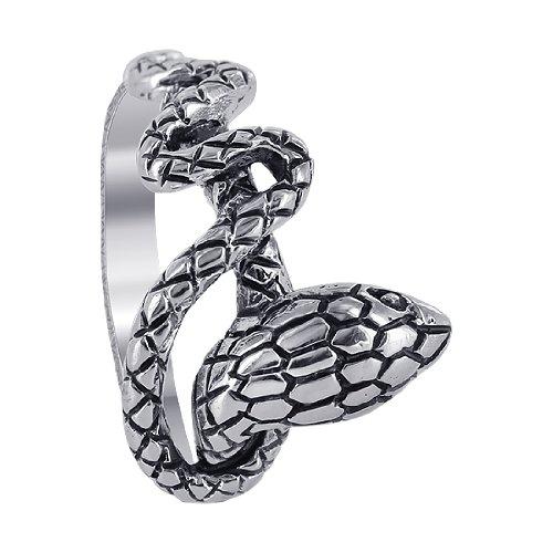 Gem Avenue 925 Sterling Silver Snake Design (Sterling Silver Snake Design)