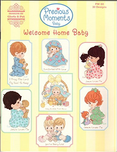 - Precious Moments Welcome Home Baby Cross Stitch Book
