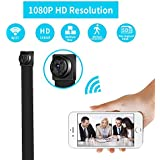 WiFi  Spy Camera, Wireless Mini Hidden Camera HD 1080P Nanny Cam Surveillance for Home Office with Motion Detection Security Camera Portable Indoor Outdoor Using