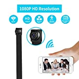 WiFi Spy Camera Wireless Mini Hidden Camera HD 1080P Nanny Cam (Small Image)