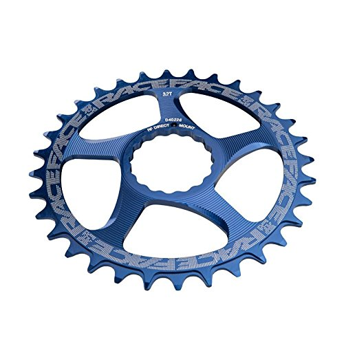 Race Face Narrow Wide Cinch Direct Mount Chainring Blue, 28T from Race Face