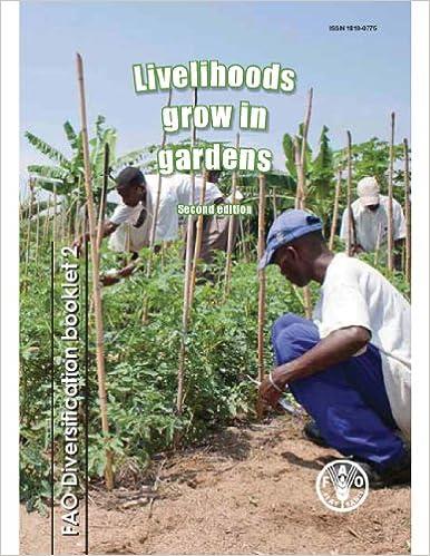 Livelihoods Grow In Gardens por Food And Agriculture Organization Gratis