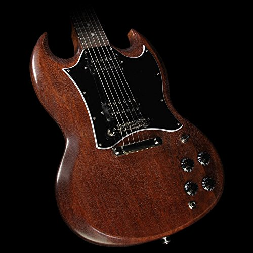 gibson usa sgf17wbnh2 sg faded t 2017 solid body electric guitar worn brown medium guitar. Black Bedroom Furniture Sets. Home Design Ideas