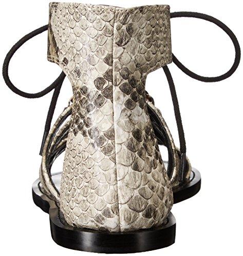 Nine West Women's Tayah Snake Gladiator Sandal Natural Multi xQ6uEKLk