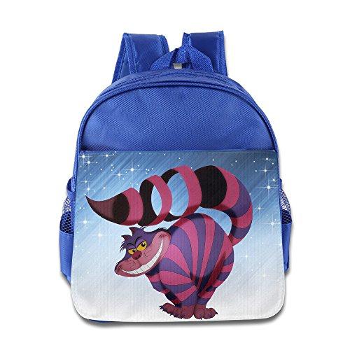 Price comparison product image ELF STORY - Cartoon Cheshire Cat Little Kid Baby Boys Girls Toddler School Bag RoyalBlue