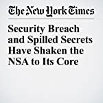 Security Breach and Spilled Secrets Have Shaken the NSA to Its Core | Scott Shane,Nicole Perlroth,David E. Sanger