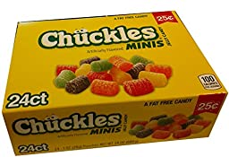 Chuckles Minis 25 Cent 24 Count