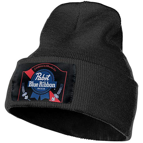 Pabst Blue Ribbon Beer Logo Unisex Winter Hats Beanie for sale  Delivered anywhere in USA