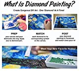 ARTDOT 4 Pack 5d Diamond Painting Kits Full Drill