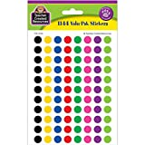 Teacher Created Resources 4743 Colorful Circles Mini Stickers Value Pack