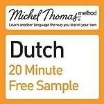 Michel Thomas Method: Dutch Course Sample | Cobie Adkins-de Jong,Els Van Geyte