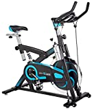 Cheap Body Xtreme Fitness Exercise Bike, Home Gym Equipment, Workout at Home, 40lb Flywheel, Resistance Bands, Drink Bottle