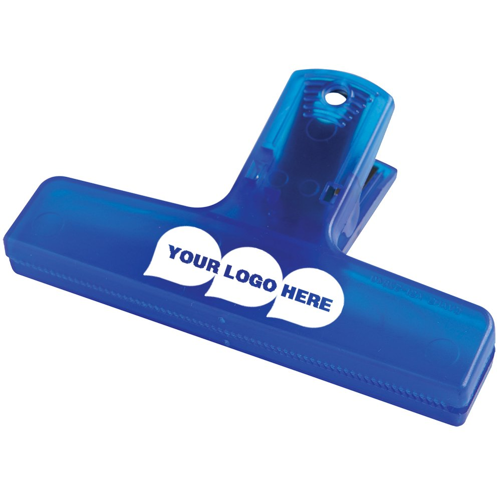 4'' Keep-it Clip - 500 Quantity - $0.75 Each - PROMOTIONAL PRODUCT / BULK / BRANDED with YOUR LOGO / CUSTOMIZED. Size: 2-1/2''H x 4''W x 1-1/8''D