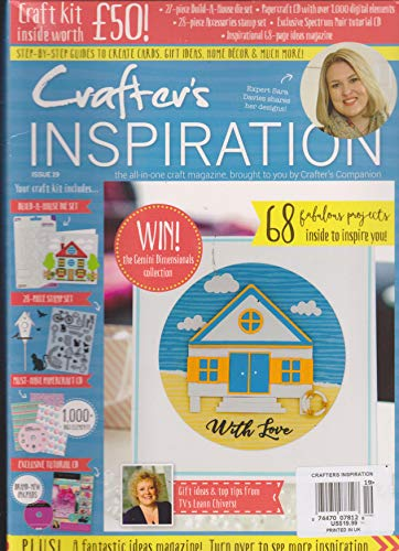 (Crafter's Inspiration Magazine Issue 19 & Craft Kit Inside)