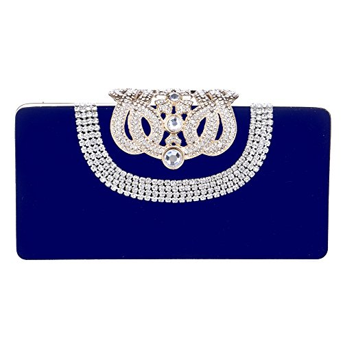 Banquet Evening Bags Bags Bags ZYXCC Evening SHISHANG Blue Ladies Diamond Luxury Fashion Party xnTYISq