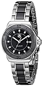 """TAG Heuer Women's WAH1314.BA0867 """"Formula 1"""" Diamond-Accented Stainless Steel Watch"""