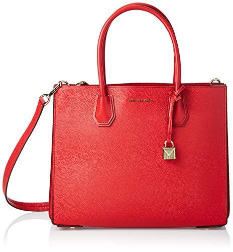 Michael Kors Tote, Bolso totes para Mujer, Rojo (Bright Red), 15x10x5 cm (W x H x L)