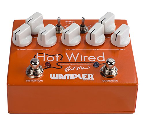 Wampler Hot Wired V2 Overdrive Pedal