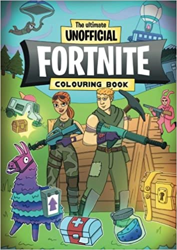 the ultimate unofficial fortnite colouring book the critical battle royale survival colouring book for fortnite fanatics