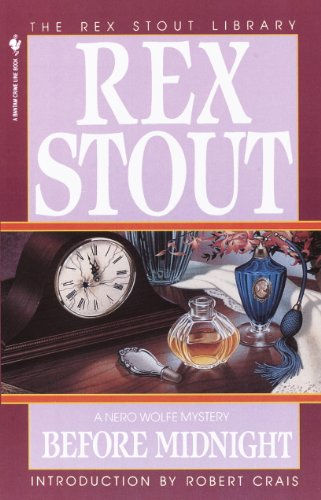 Before Midnight (A Nero Wolfe Mystery Book 25) cover