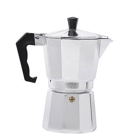 Majome Moka Café Jarra Cafetera expreso Aluminio Cocción Durable ...