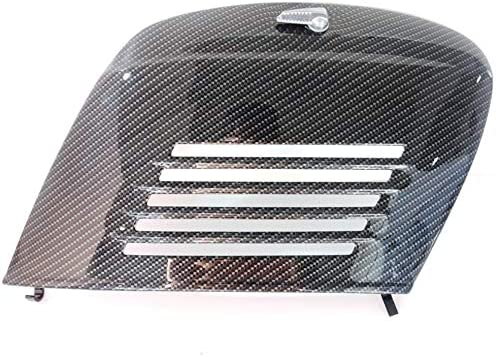 Boita 2 0 Motorklappe Für Vespa Carbonoptik Schwarz Glänzend Auto