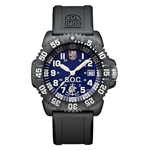 Luminox Navy Seal Colormark Men's Blue Dial Watch 3053SOCSET ()