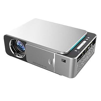 JIAX 1280x720p portátil proyector HD, Android 7.1 HDMI 1080P USB ...