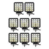 bowfishing led lights - Led Light Bar, Glotech 8PCS 4