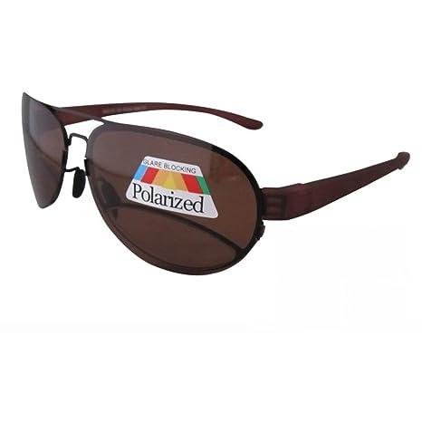 Eyekepper – Adultos Gafas de sol polarizadas con lectura notebook/bifocales marrón