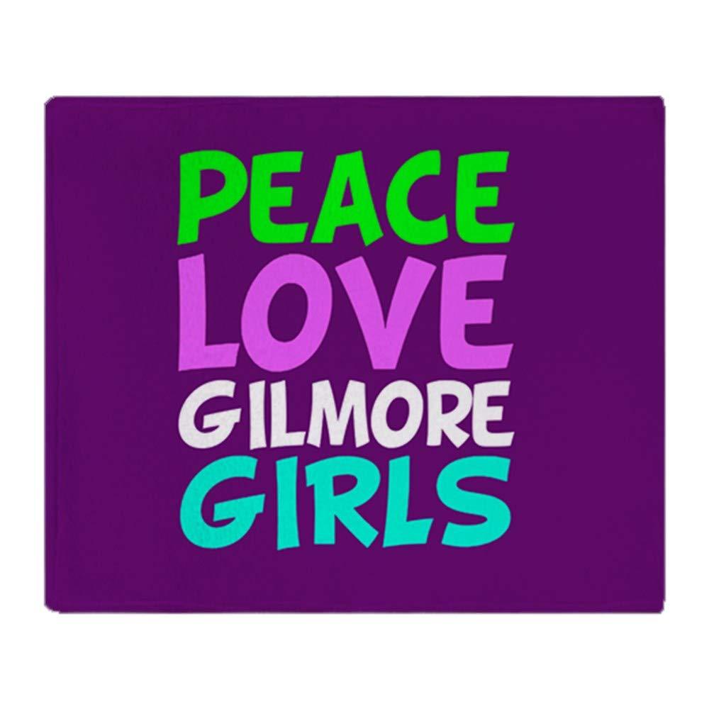 CafePress Gilmore Girls Love Soft Fleece Throw Blanket, 50''x60'' Stadium Blanket