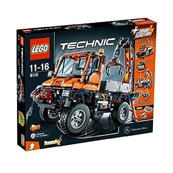 Technic Jeu De 8110 Lego Unimog U400 Construction 0knPwO