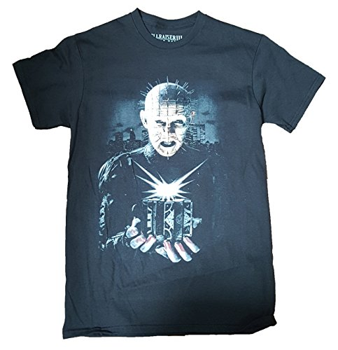 Hellraiser Pinhead Graphic T-Shirt - Large (Horror Tshirts)