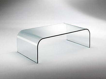 Infabbrica - Tavolino da salotto in vetro curvato Gallery 110-129 ...