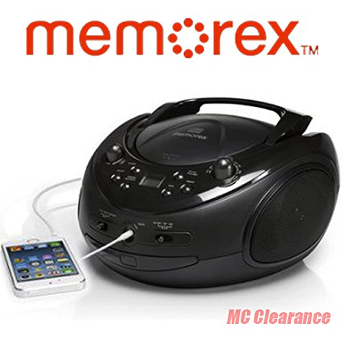 Memorex Portable CD Boombox Sport MP3221 Sport Stereo with