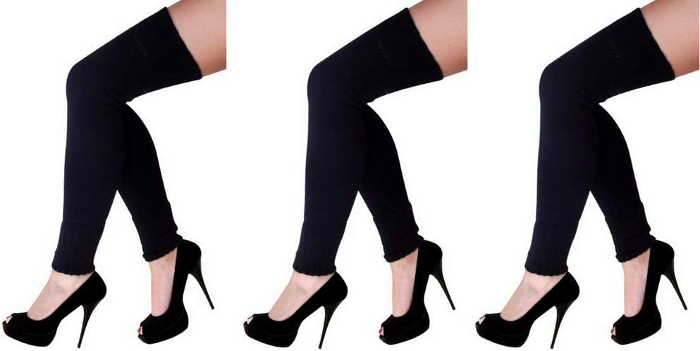 krautwear® Mujer Calentadores Calentadores Legwarmers Overknees ...