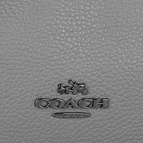 bandoulière 31 Bruyère cuir de sac galets Grey Gris Edie Coach en Leather à qECzAx6Ow