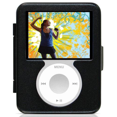 Hard Nano Ipod Case Aluminum - CTA Digital Hard Case for iPod nano 3G (Black)