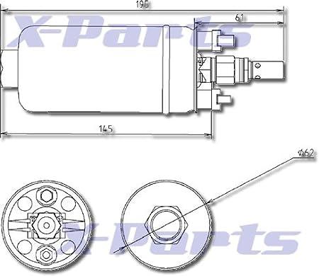 Hochleistungs Benzinpumpe 044 340 L//H Tuning bis 650PS