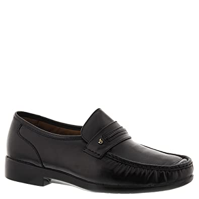 Mens Discount Black smart loafers Sale No 7246