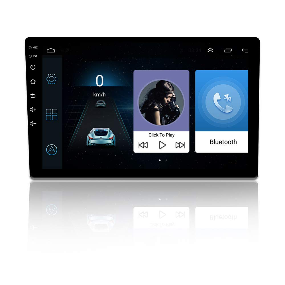 TOOGOO 2Din 10 Inch Android 6.0 Car Radio GPS Navigation Bluetooth Capacitive Press Screen Stereo Audio Player