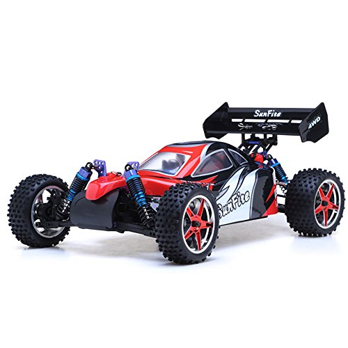 1/10th 2.4Ghz Exceed RC Brushless PRO 2.4Ghz Electric SunFire RTR Off Road Buggy (BB Red)