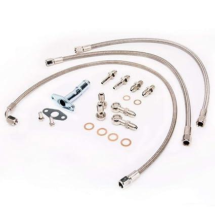 Turbo Kit de tubería de agua y aceite para Ihi RHB5 vi58 Fit Mazda Miata/